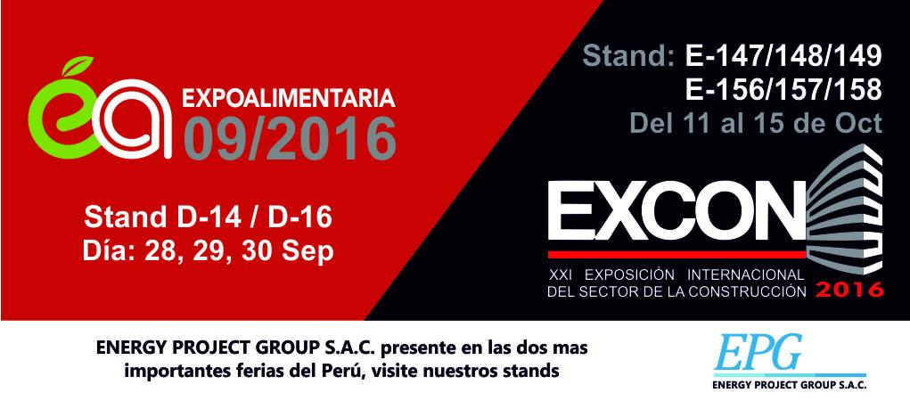 Expoalimentaria 2016 y EXCON 2016