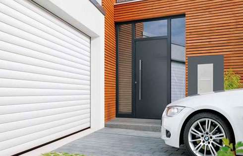 Puerta de garaje enrollable RollMatic